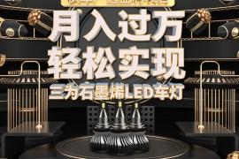 枫车严选之商品优惠政策一:三为黑卫士石墨烯LED车灯!
